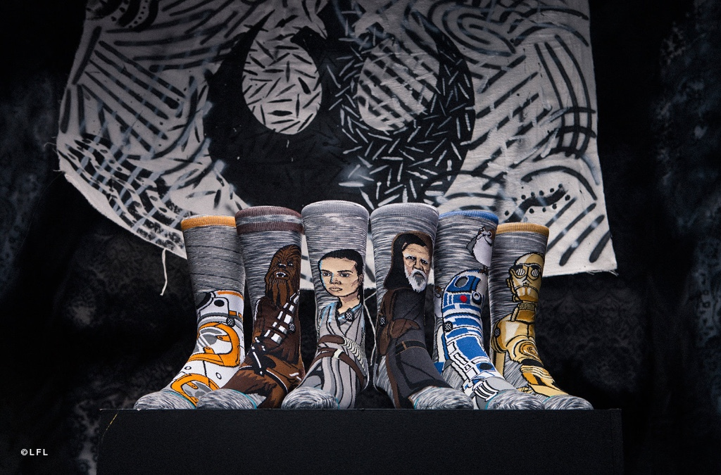 Stance Socks presenta la nuova capsule collection ispirata all'ultimo capitolo della saga di Star Wars