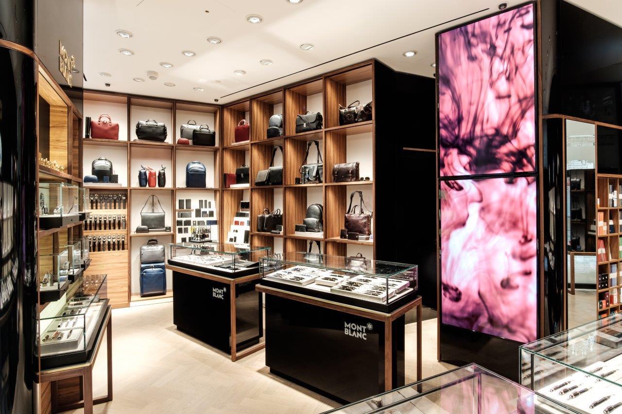 Boutique Montblanc a Milano in Galleria Vittorio Emanuele
