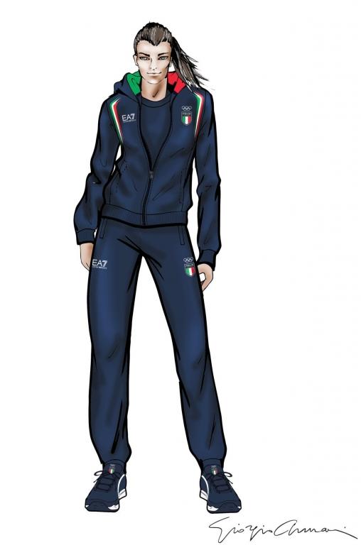 Giorgio Armani - Winter Games Pyeongchang 2018