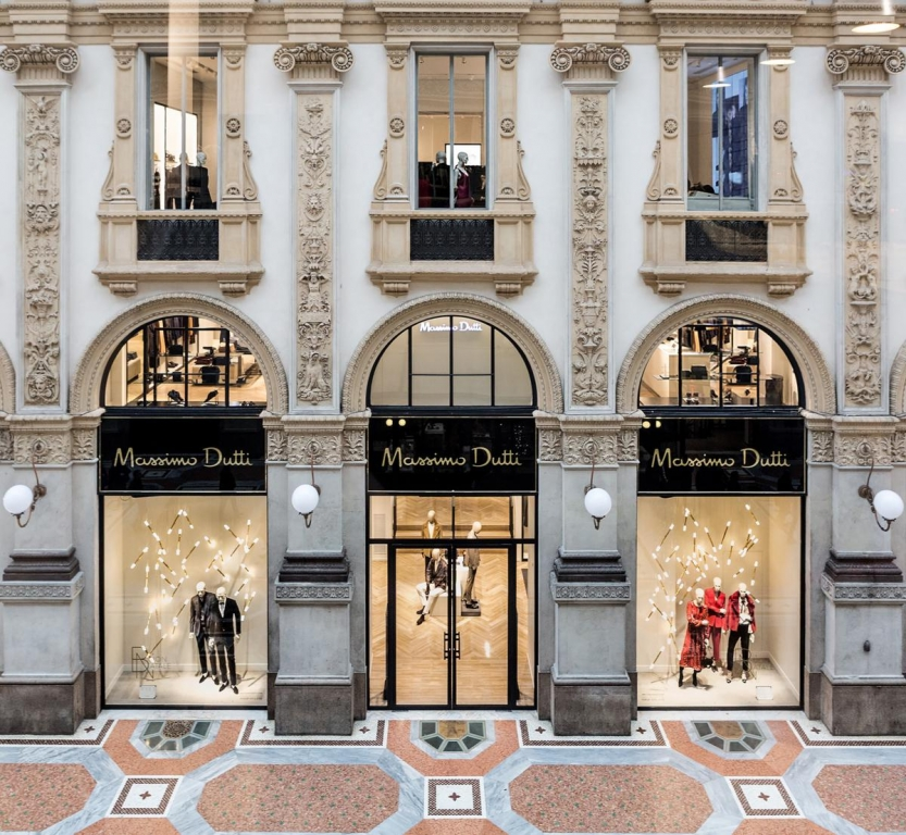 Massimo Dutti - Galleria Vittorio Emanuele Milano