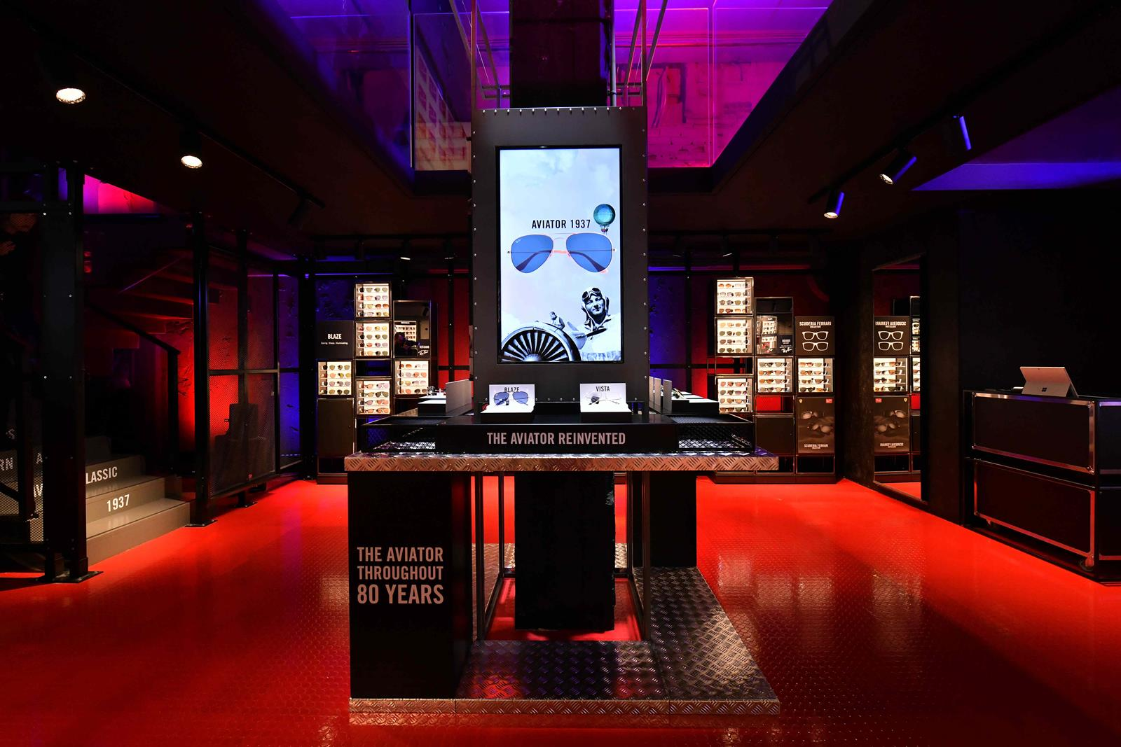 Pop-up store Ray-Ban