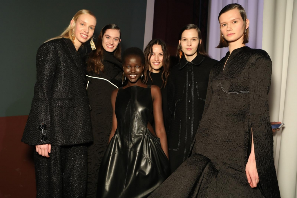 Backstage Ellery - Paris Fashion Week
