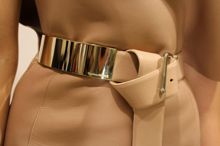 Gianfranco Ferrè - Cintura Obi con dettagli in metallo