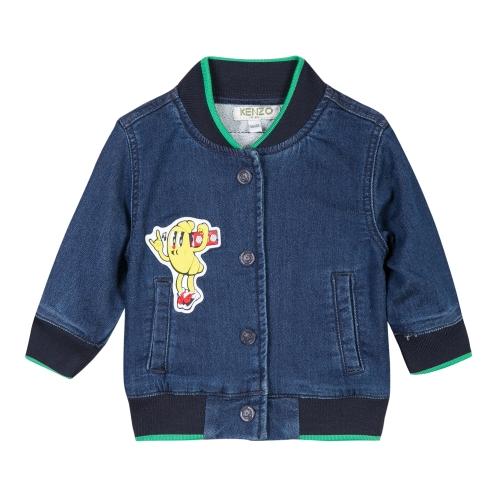 giacca in denim bambino Kenzo