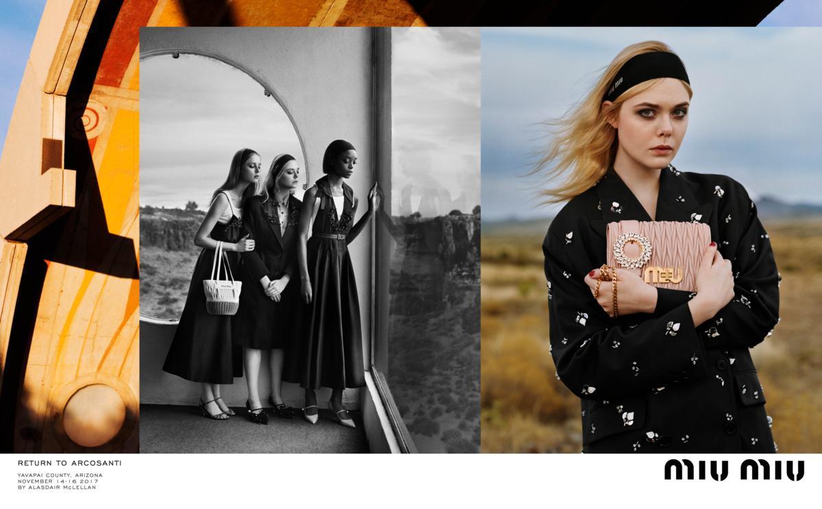new style 6b4bc af73a Miu Miu: nuova campagna Primavera-Estate 2018 | Fashion Times