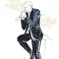 Sketch Biagio Antonacci in Ermanno Scervino