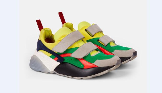 Sneakers Eclypse Color-Block
