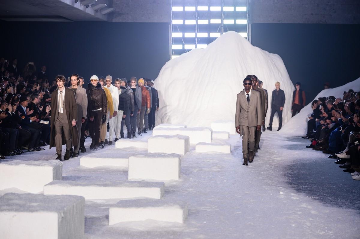 Ermenegildo Zegna Couture tutti i look della collezione autunno inverno 2018 2019