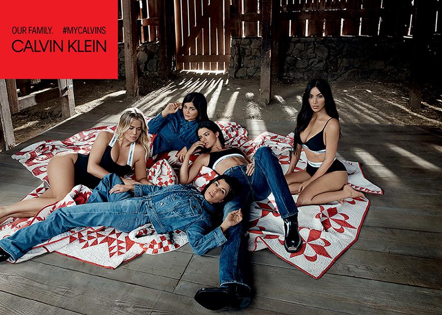 kardashian jenner calvin klein underwear e jeans ph willy vanderperre