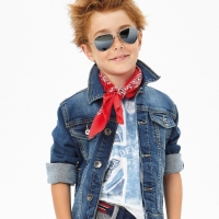 Giacche in jeans per bambini 56470d600fe