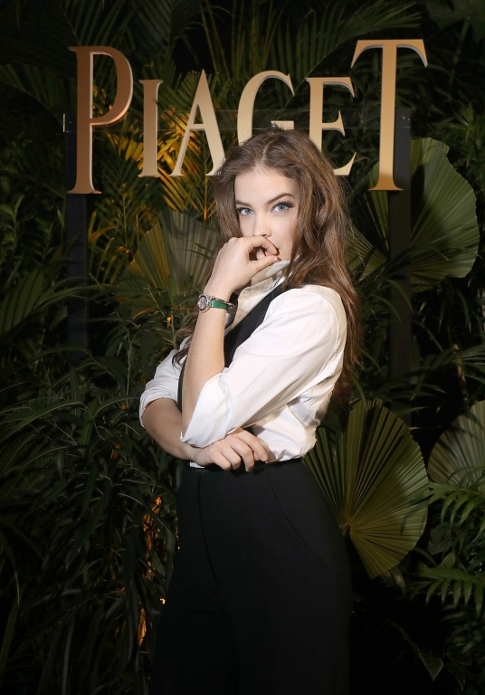 GENEVA, SWITZERLAND - JANUARY 15:  Barbara Palvin attends the #Piaget dinner at the Country Club during the #SIHH2018 on January 15, 2018 in Geneva, Switzerland.  (Photo by Remy Steiner/Getty Images for Piaget) *** Local Caption *** Barbara Palvin