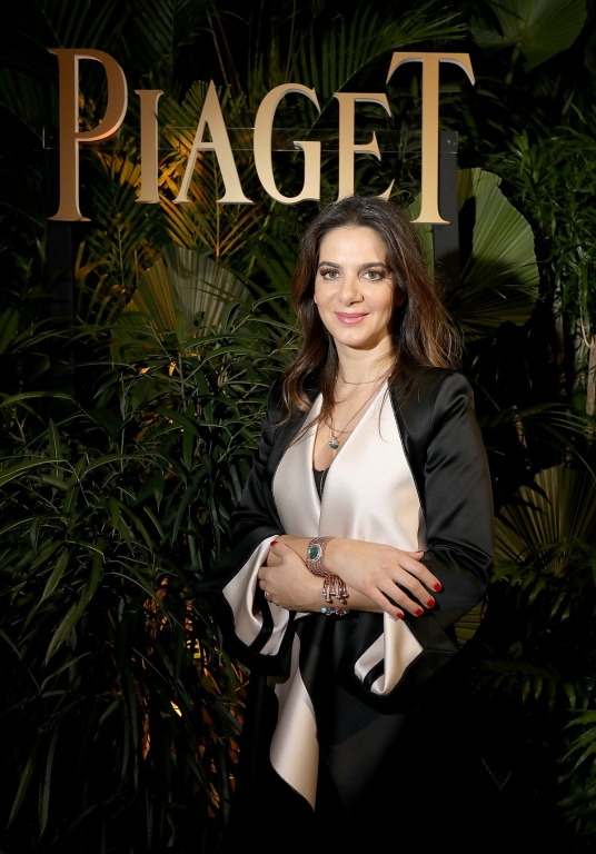 GENEVA, SWITZERLAND - JANUARY 15:  Piaget CEO Chabi Nouri attends the #Piaget dinner at the Country Club during the #SIHH2018 on January 15, 2018 in Geneva, Switzerland.  (Photo by Remy Steiner/Getty Images for Piaget) *** Local Caption *** Chabi Nouri