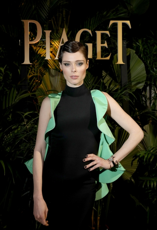 GENEVA, SWITZERLAND - JANUARY 15:  Coco Rocha attends the #Piaget dinner at the Country Club during the #SIHH2018 on January 15, 2018 in Geneva, Switzerland.  (Photo by Remy Steiner/Getty Images for Piaget) *** Local Caption *** Coco Rocha