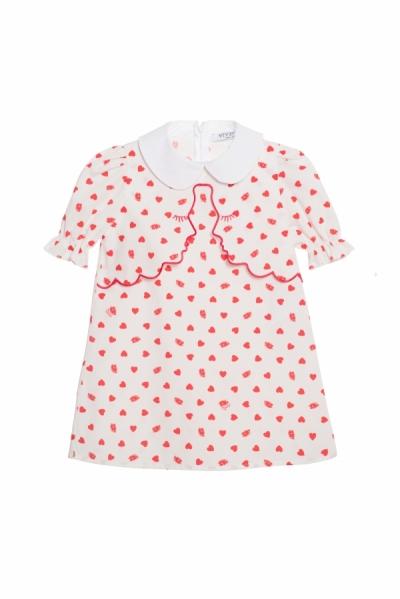vestito bimba cuori Vivetta