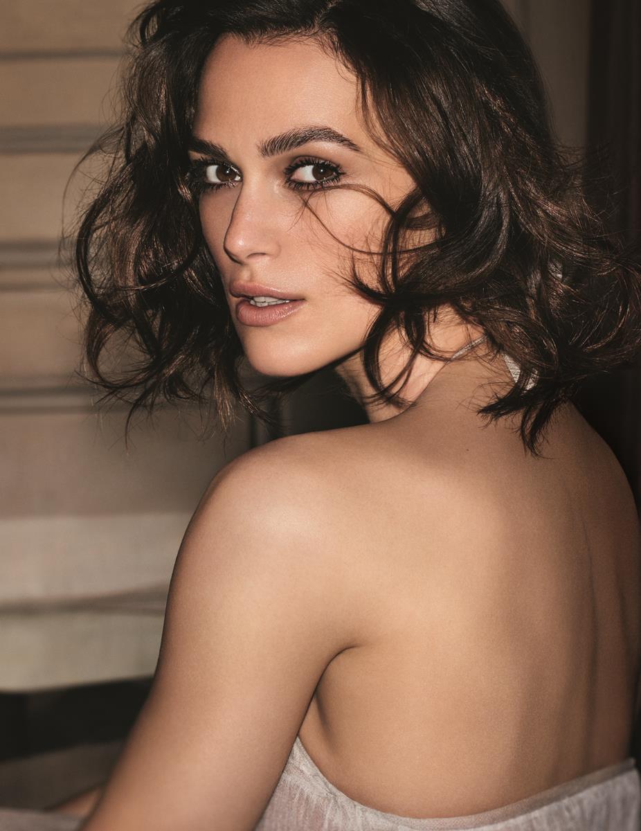 Keira Knightley Chanel n. 5 new fragrance