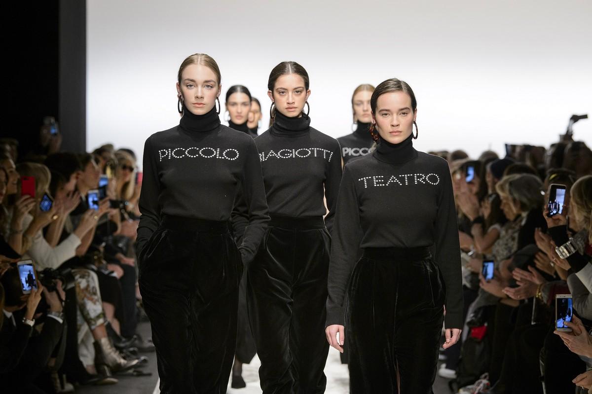 Biagiotti sfila a Milano Moda Donna con la collezione autunno inverno 2018 2019