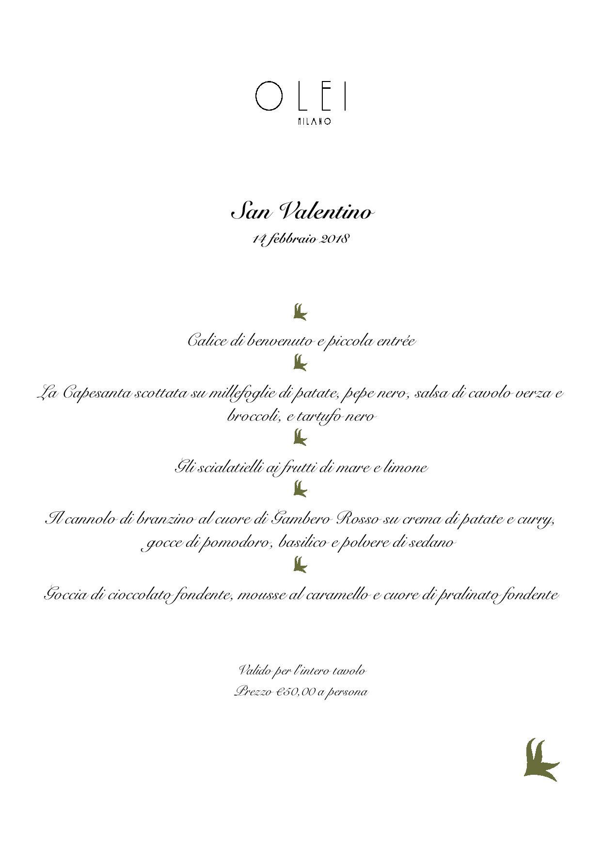San Valentino a Milano: consigli per la tua cena romantica - Olei Milano