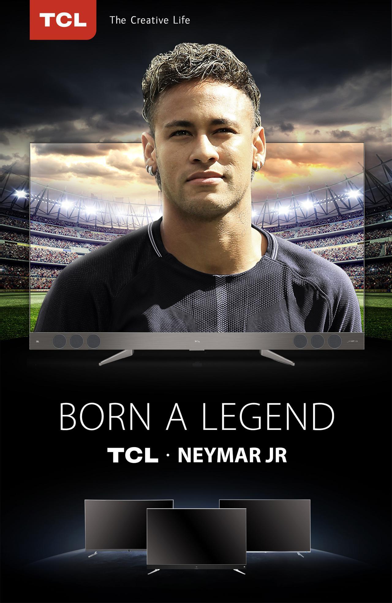 NeymarJR ambassador TCL