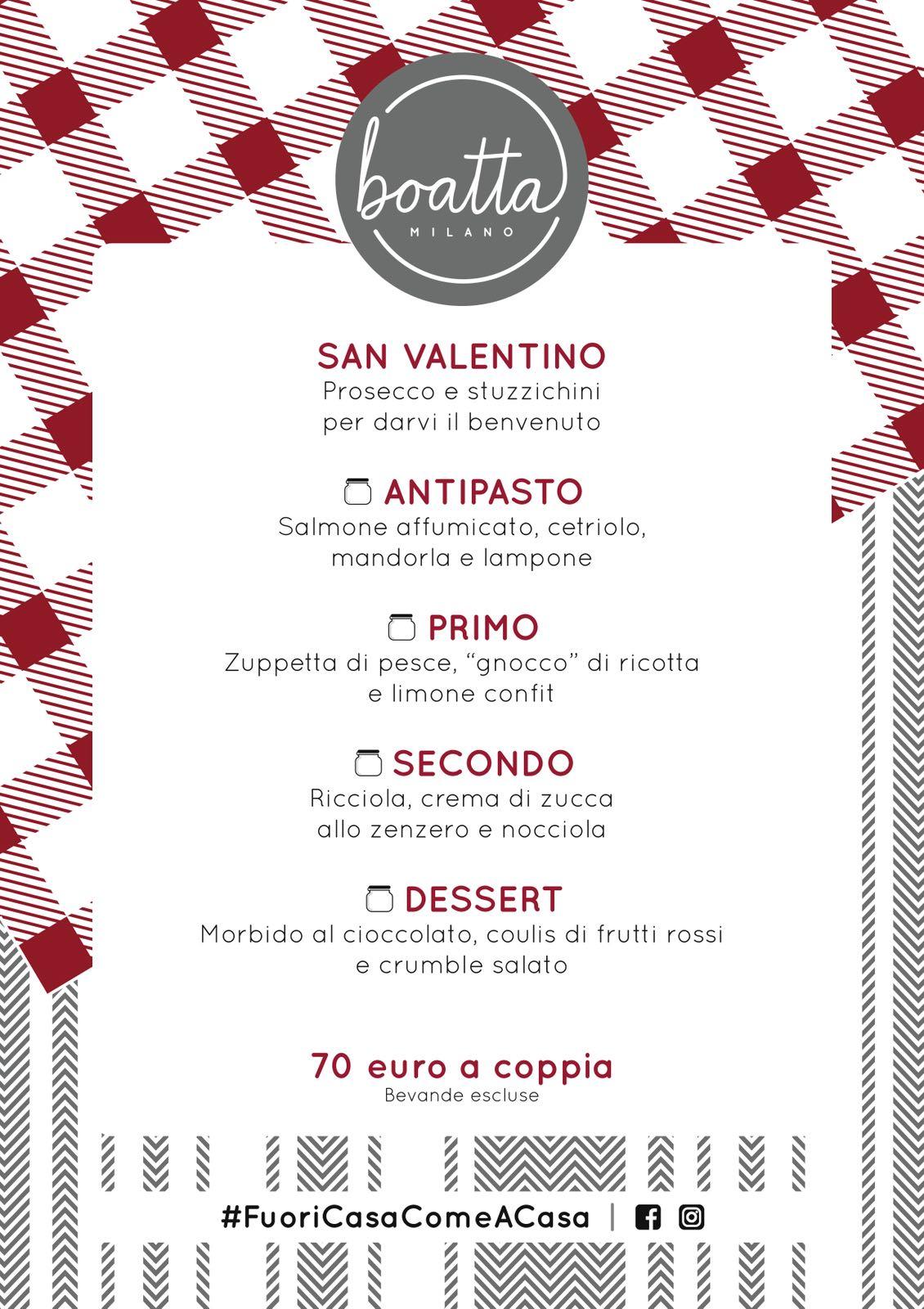 San Valentino a Milano: consigli per la tua cena romantica - Boatta Milano
