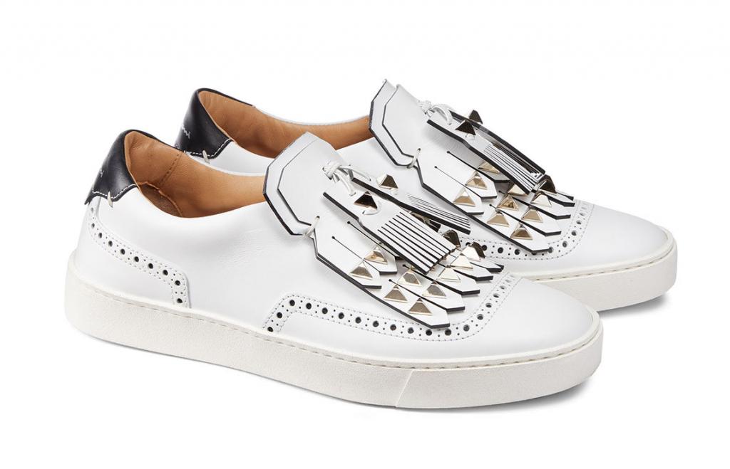 santoni sneakers borchie