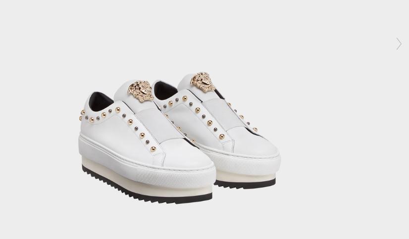versace sneakers borchie