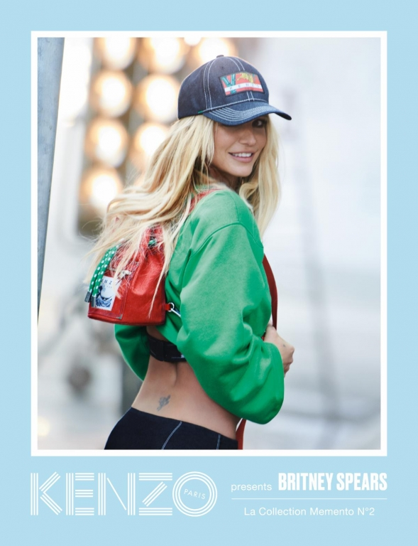 Britney Spears per KENZO