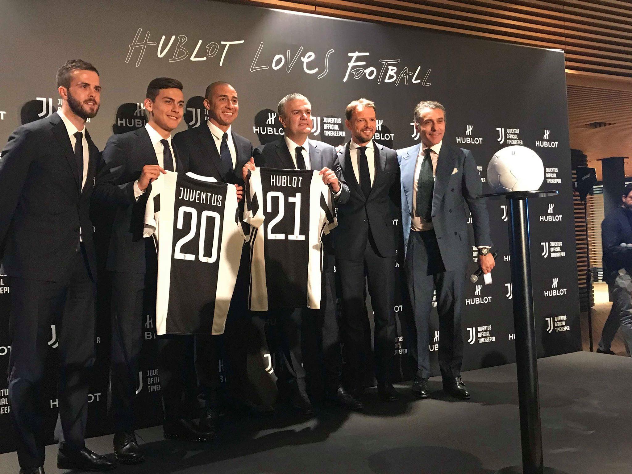 Evento Hublot a Torino con la Juventus (foto di Barbara Vellucci)