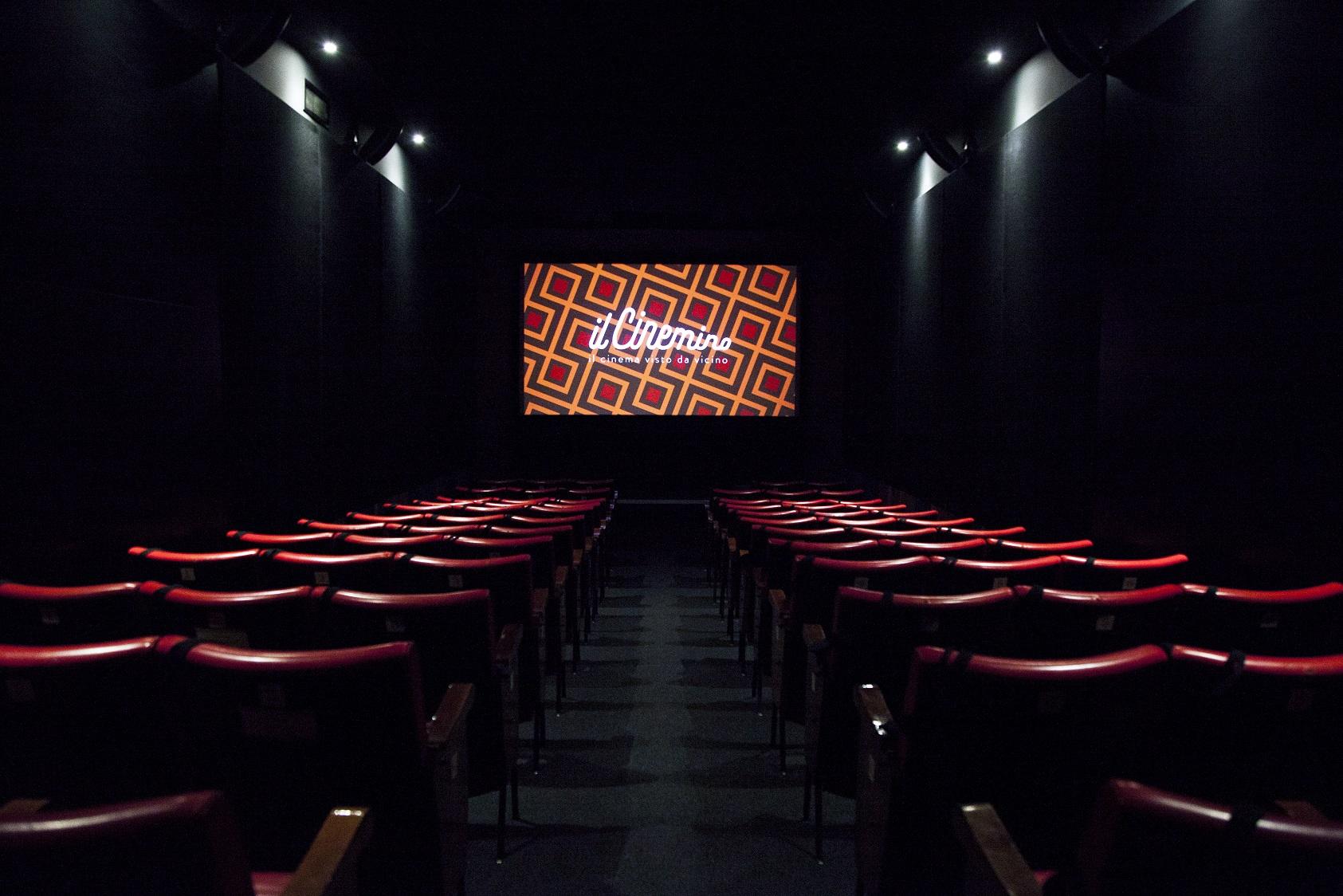 Il Cinemino - La sala ©Carlo Prevosti