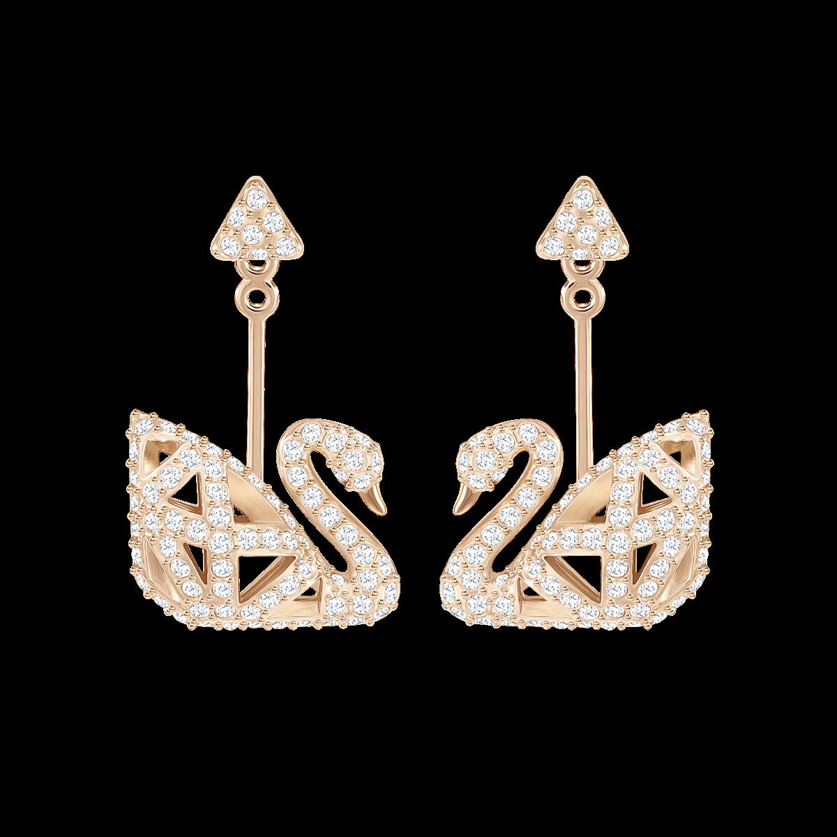 iconic swan swarovski collection