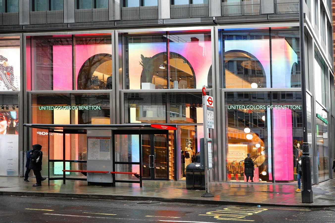united colors of benetton a londra il nuovo flagship
