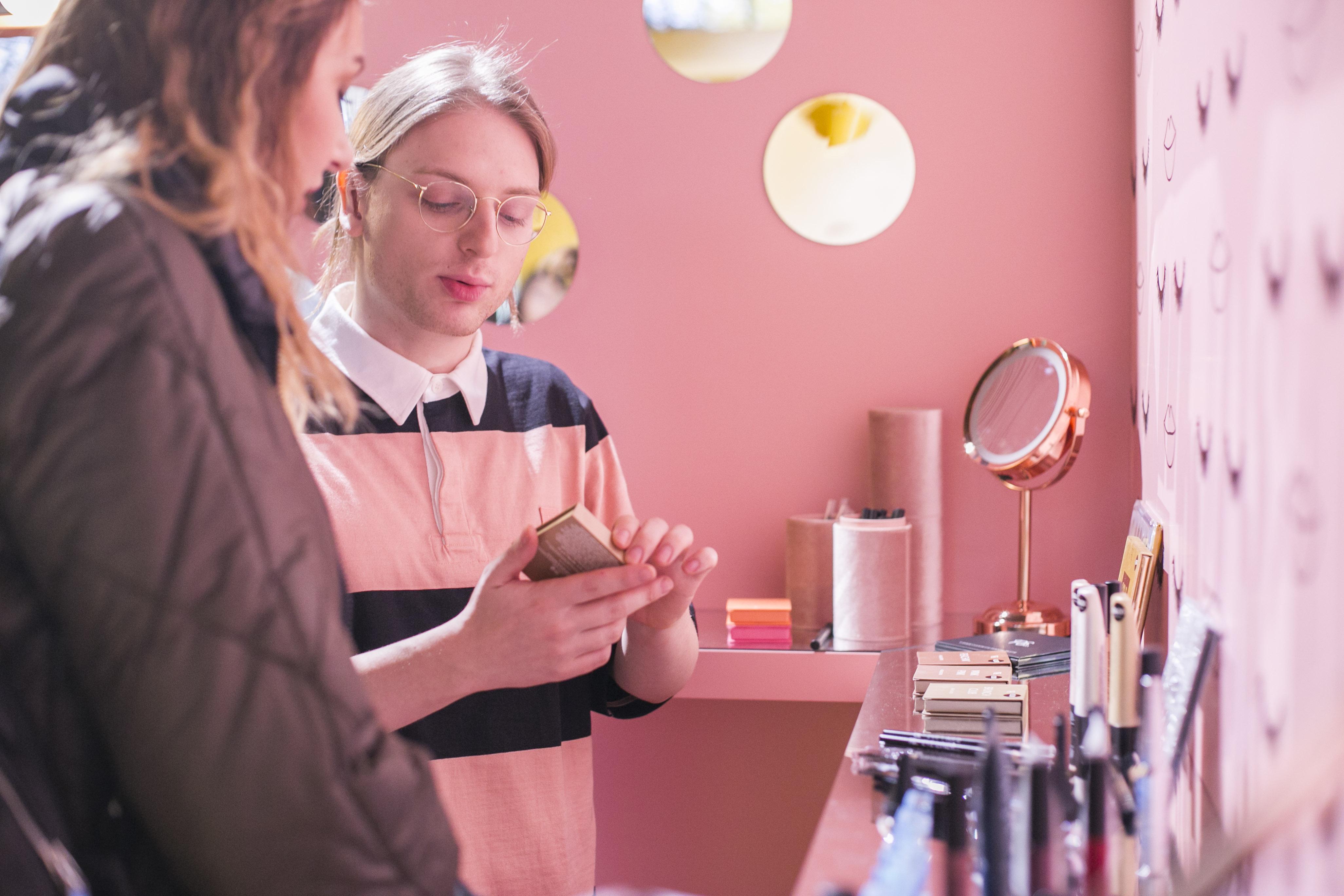stephanie glitter make-up primark