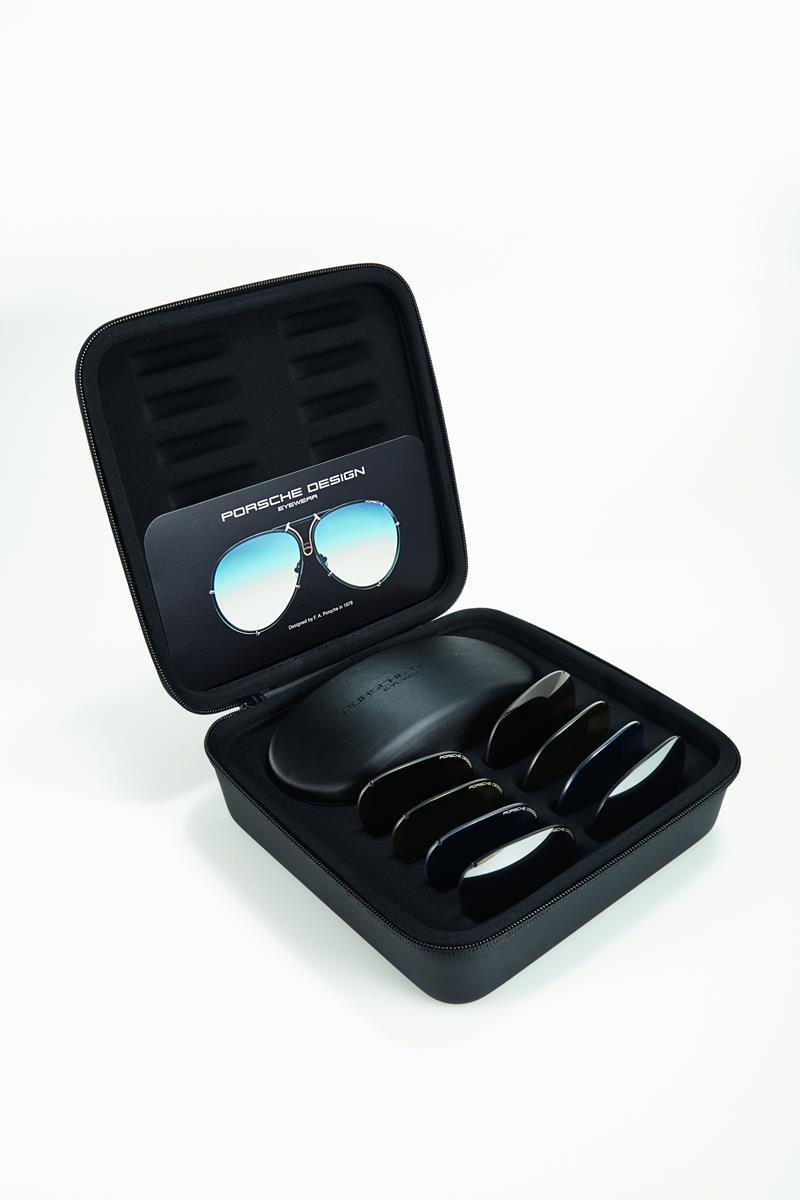 Porsche design eyewear special edition per i 40 anni for Porsche design ufficio stampa