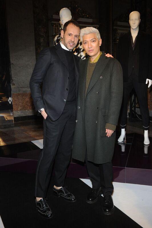 Massimiliano Giornetti con il Fashion Blogger Bryan Boy.