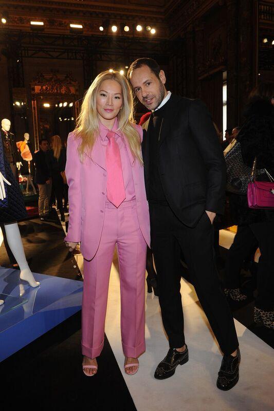 Massimiliano Giornetti con la Fashion Stylist e Blogger Tina Leung