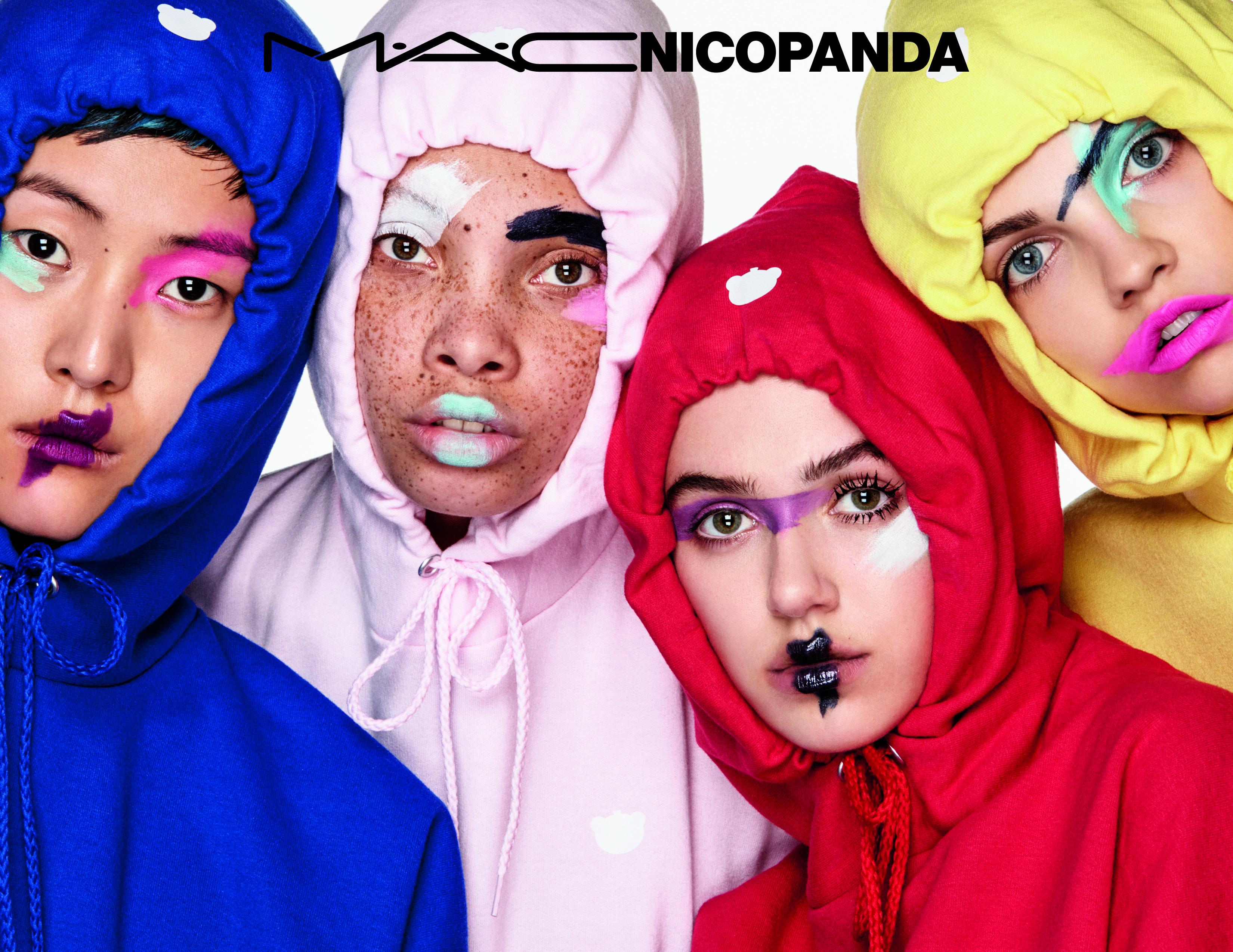 nicopanda mac cosmetics