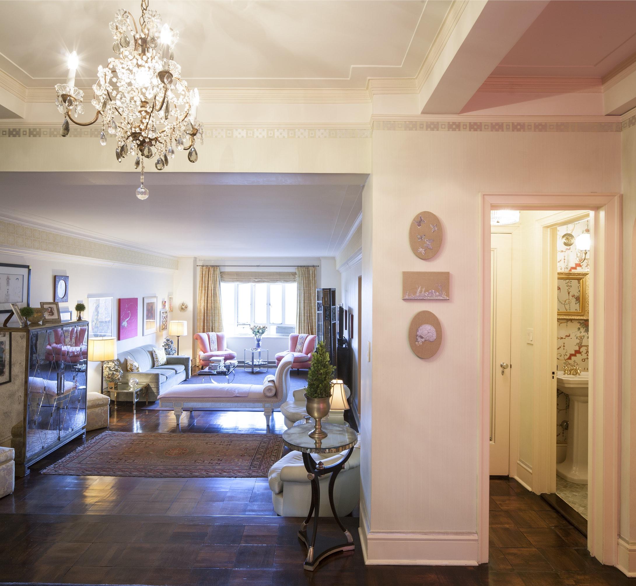 Casa della giornalista Grazia D'Annunzio (New York Upper West Side). Foto di Luca Pioltelli.