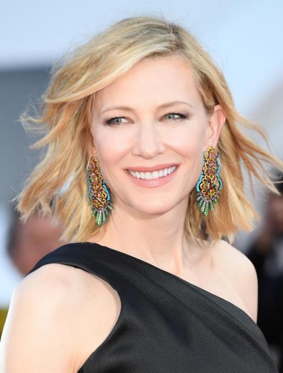 Cate Blanchett con make-up Giorgio Armani Beauty