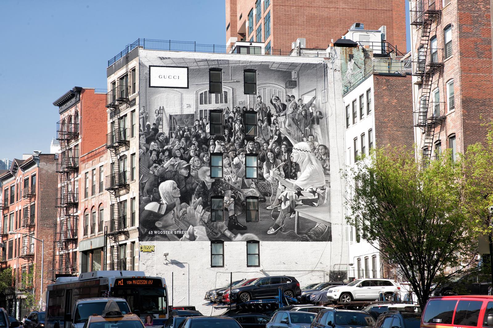 Gucci Art Wall NY_12_Courtesy of Chris Moran_Colossal Media