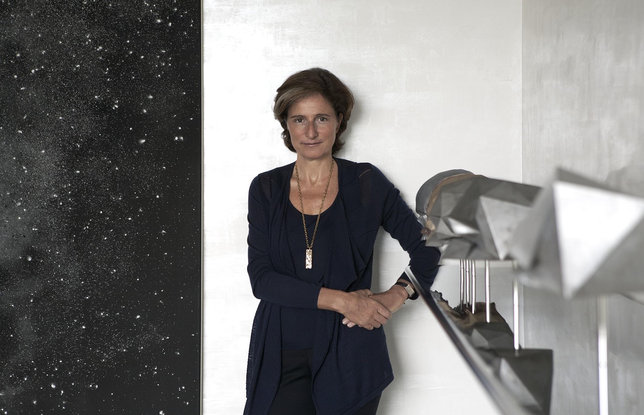 La Gallerista Dominique Lévy (Foto di Luca Pioltelli).