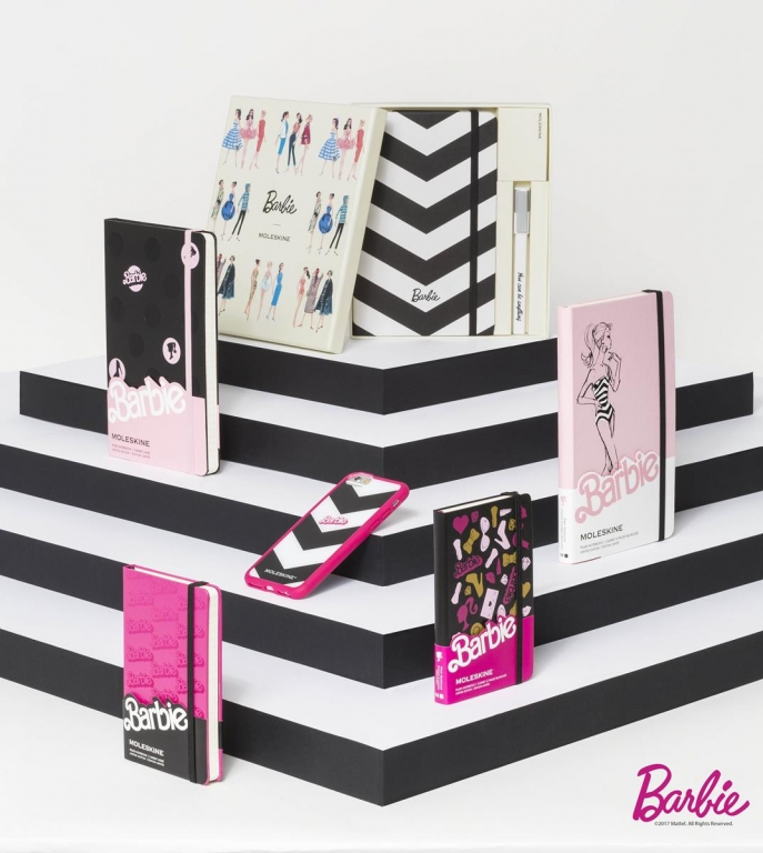 Moleskine Barbie Limited Edition Collection