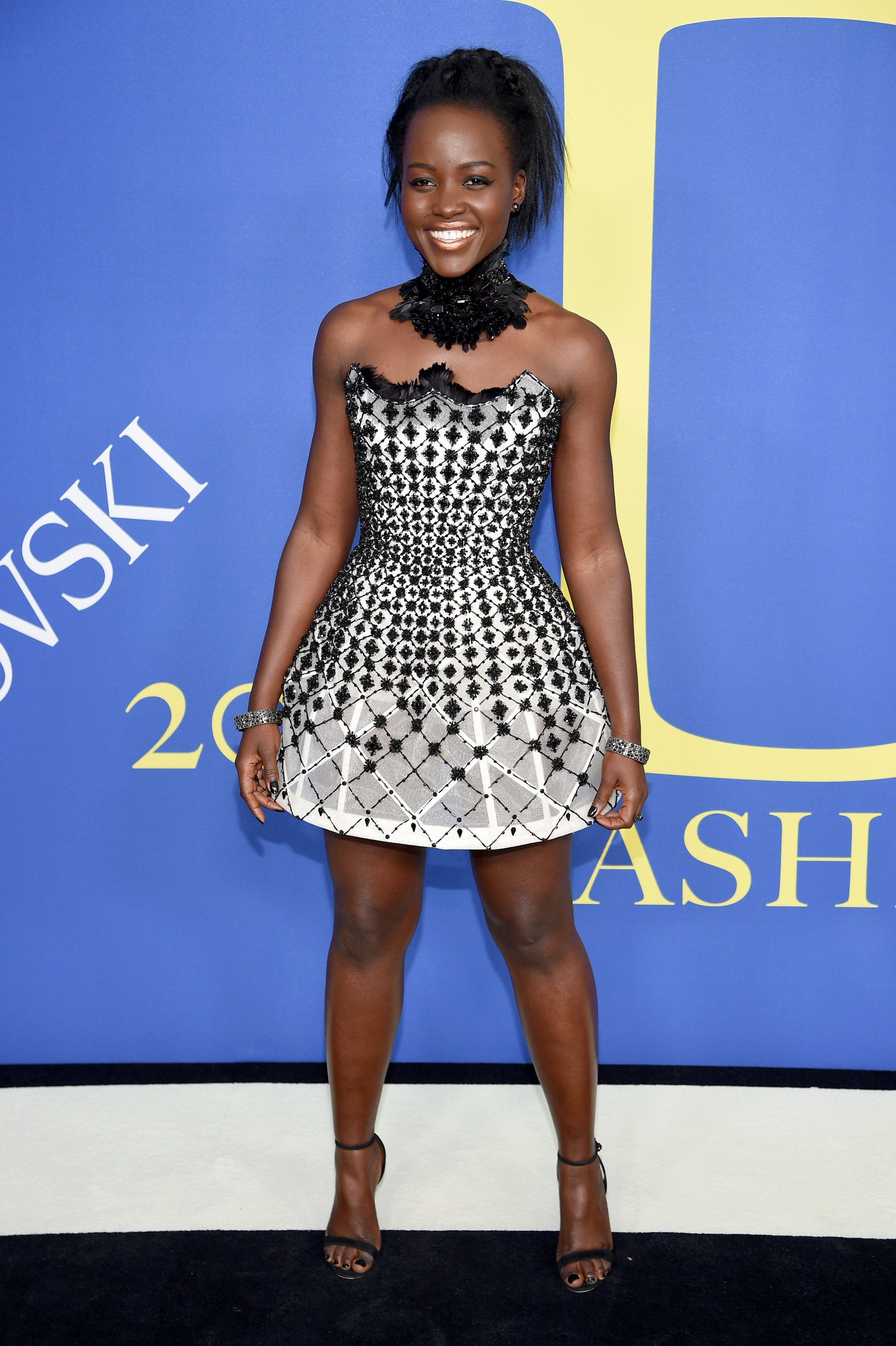 NEW YORK, NY - JUNE 04: Lupita Nyong'o attends the 2018 CFDA Fashion Awards at Brooklyn Museum on June 4, 2018 in New York City. (Photo by Dimitrios Kambouris/Getty Images)