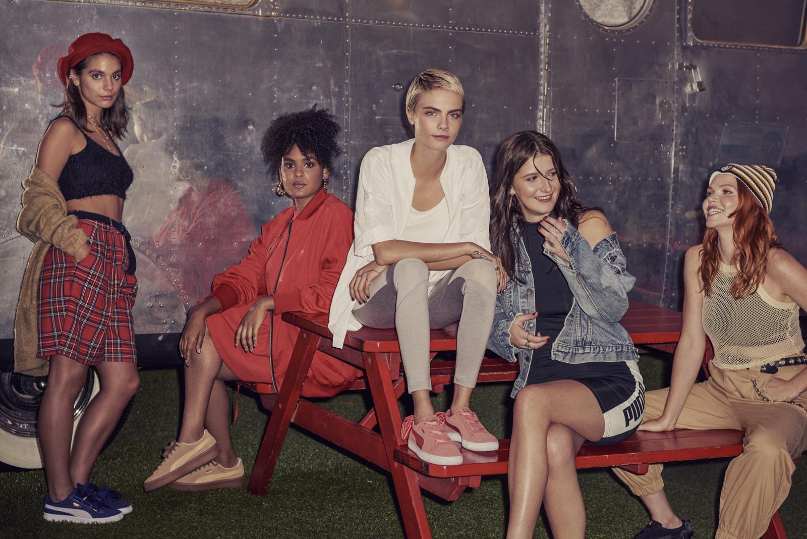 Fashion Le Nuove Cara Presenta Suede Delevingne Times Bow Puma nqTA0wEaxA