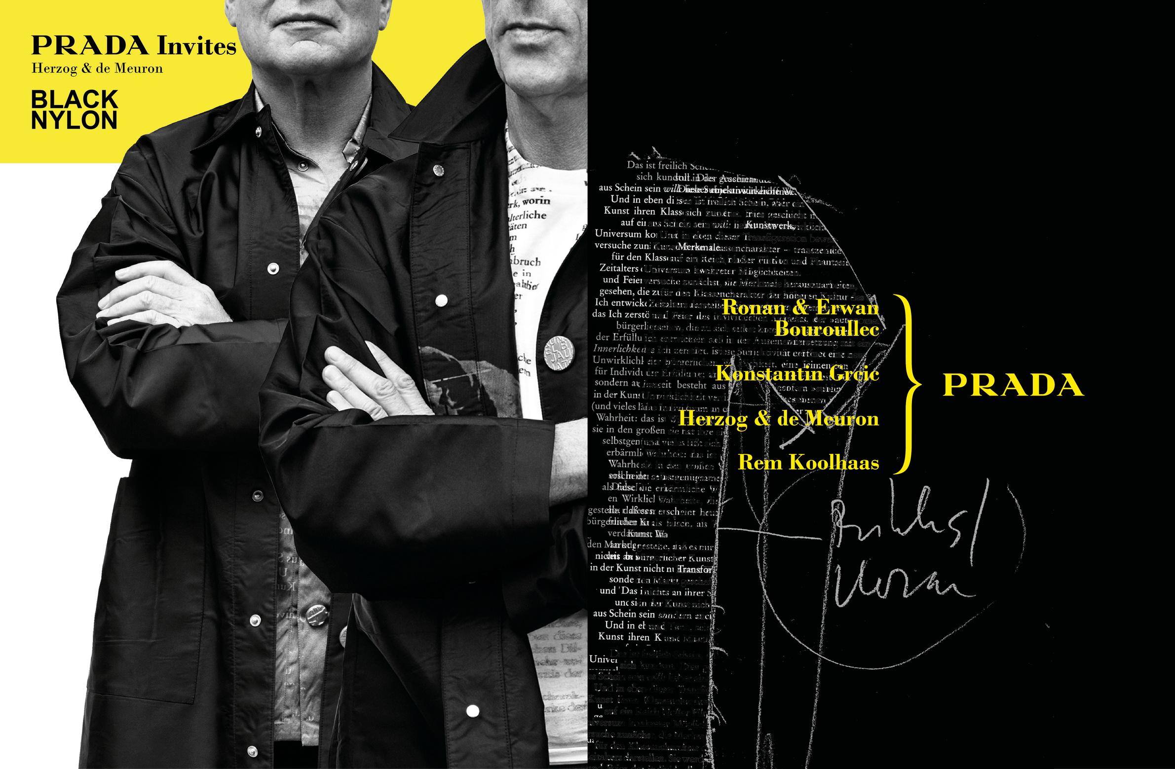 Prada Invites Advertising Campaign_Herzog & de Meuron