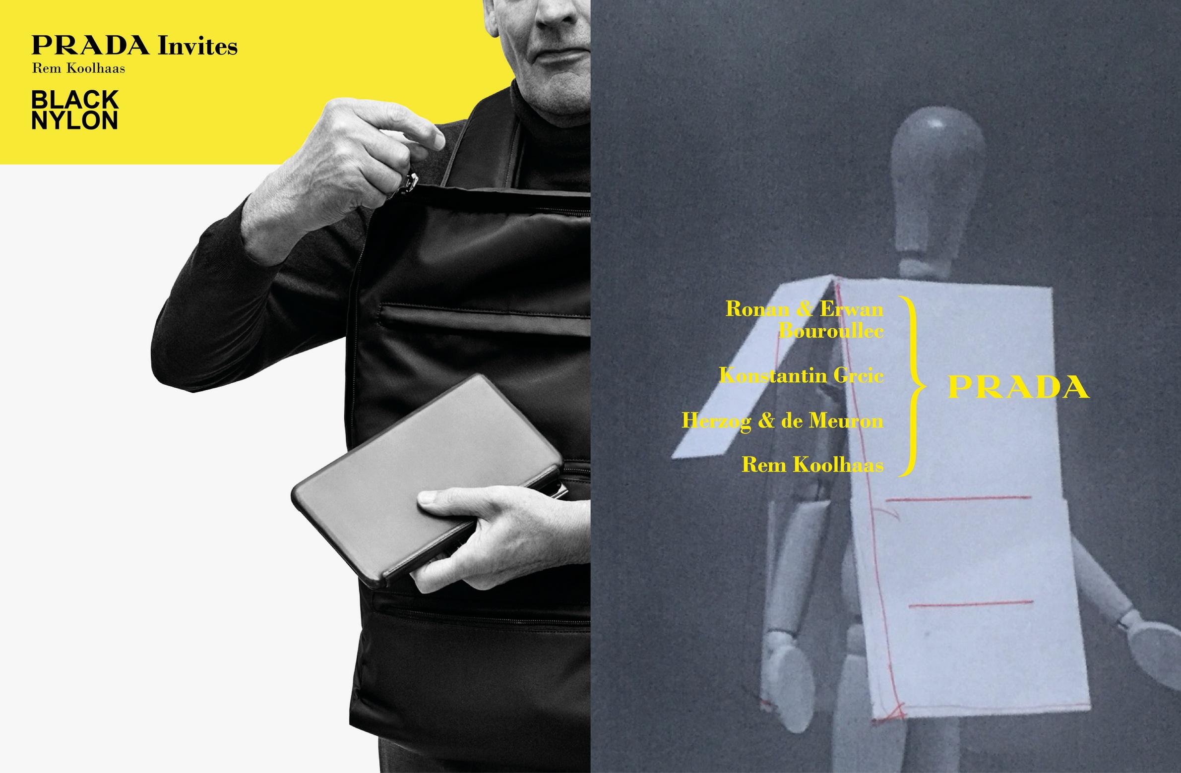 Prada Invites Advertising Campaign_Rem Koolhaas