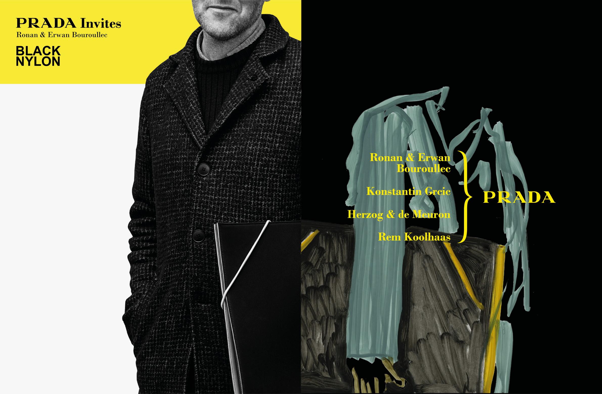 Prada Invites Advertising Campaign_Ronan & Erwan Bouroullec