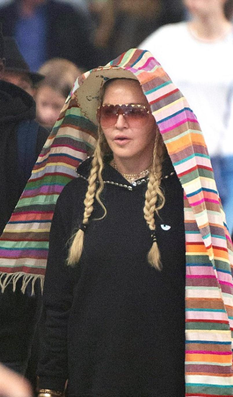 Madonna in Chiara Ferragni Collection