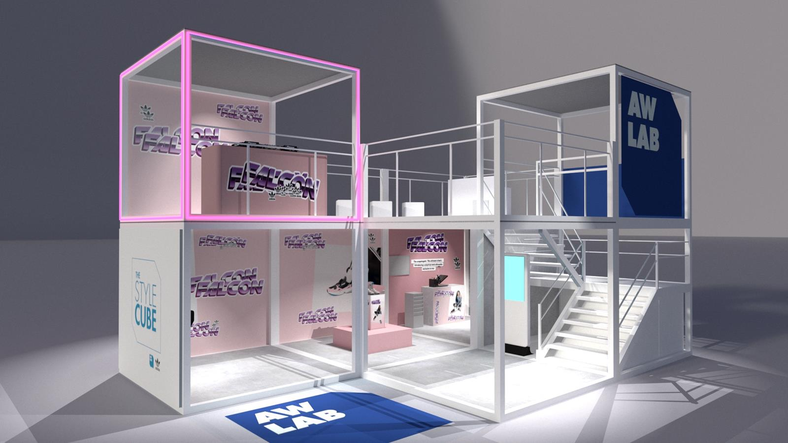 The Style Cube Il Temporary Street Culture Space Di Aw
