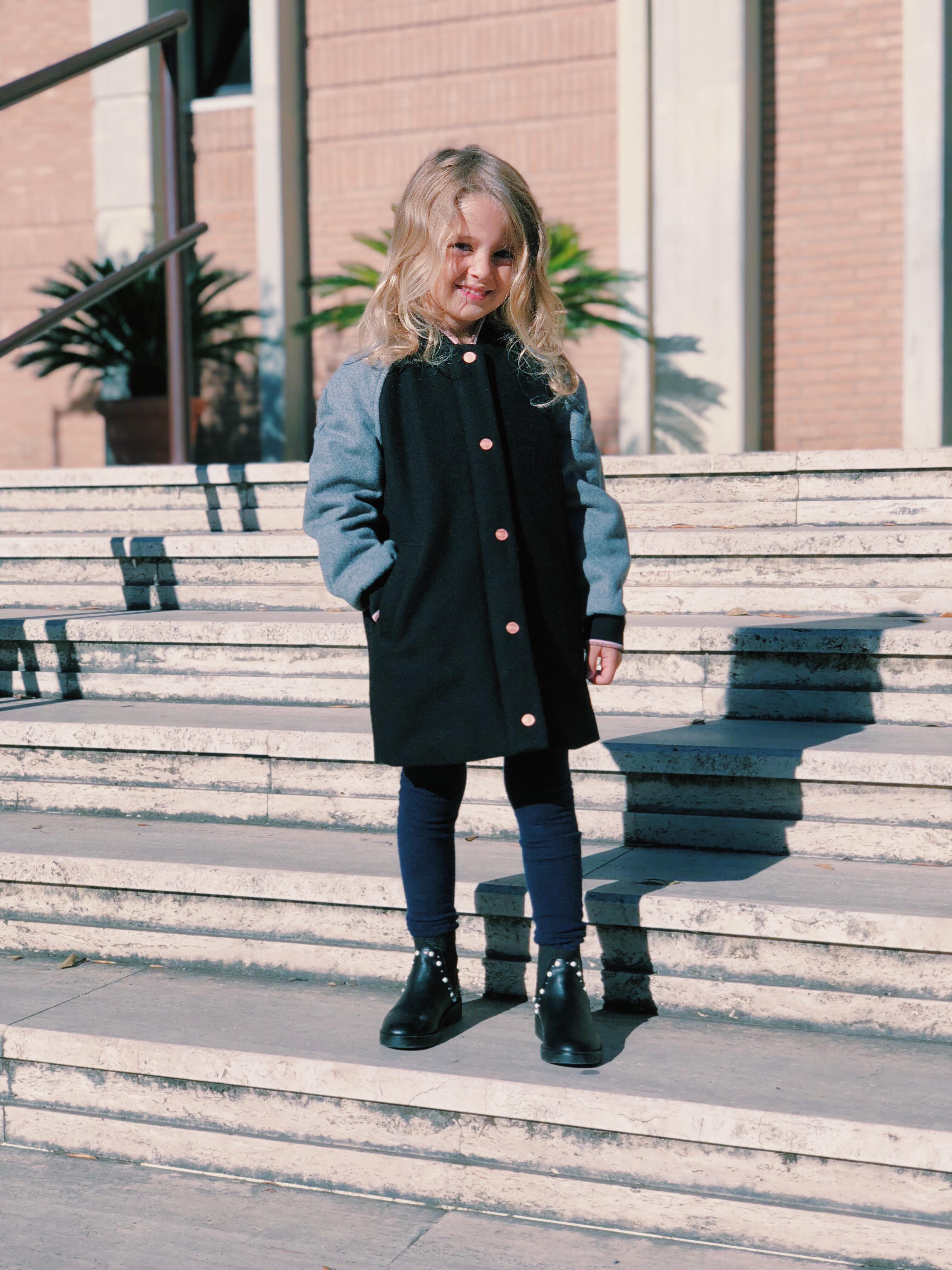 f79c974242063 Fabrizia Spinelli di Cosa Mi Metto  per il progetto SQUARE for Kenzo Kids.  vestiti per bambini kenzo kids