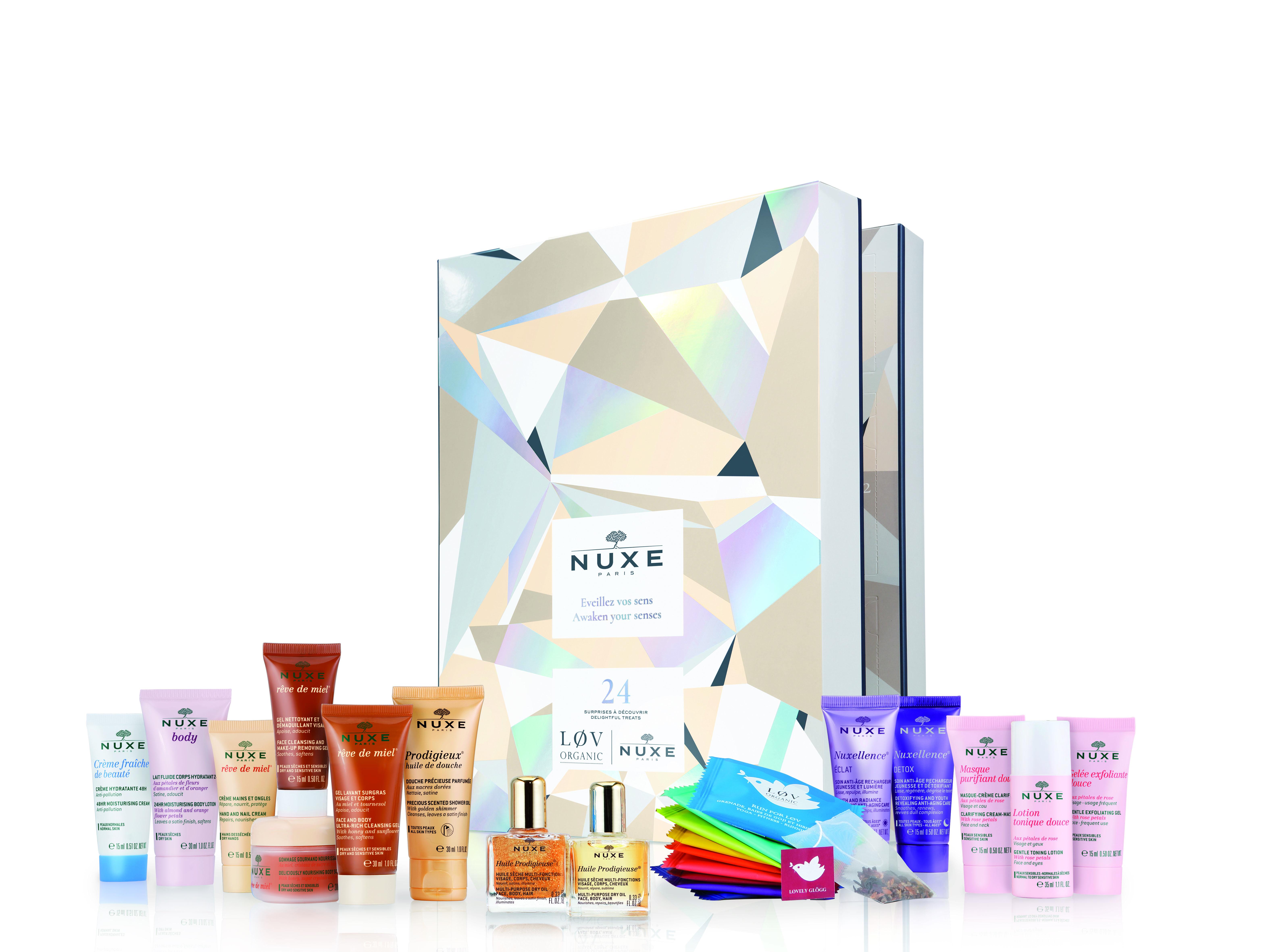Nuxe Calendario Dellavvento Beauty Con Løv Organic Fashion Times