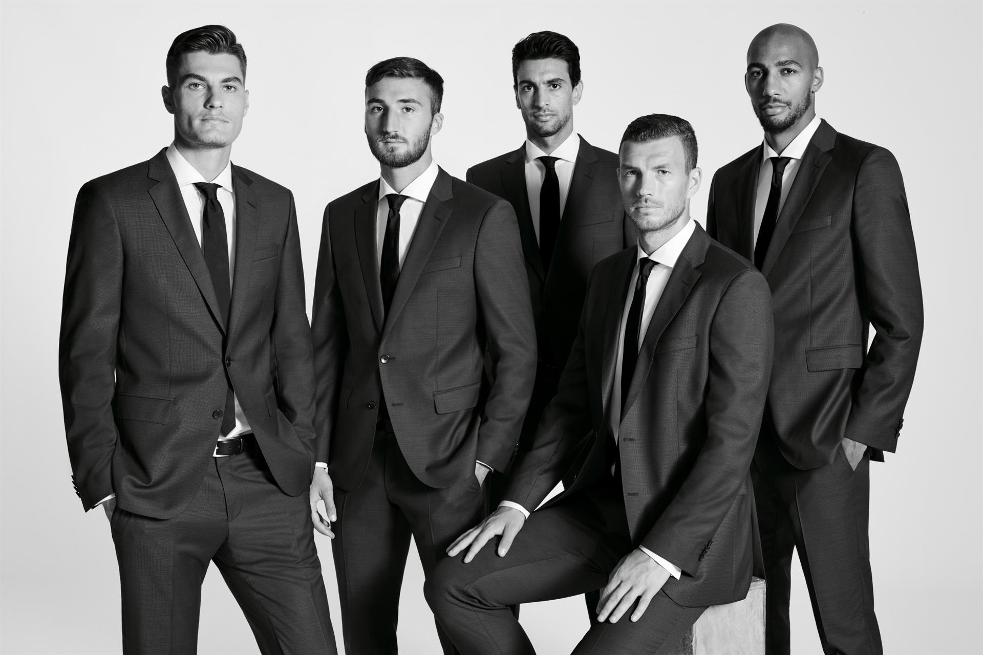 hugo boss calciatori roma